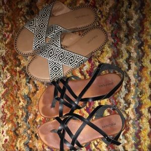 •Maurice's Sandals•